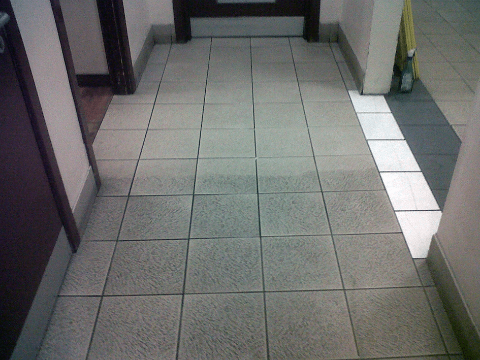 tile cleaning after
